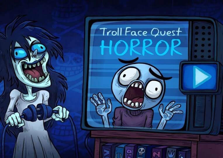 Troll Face Quest Horror - скриншот